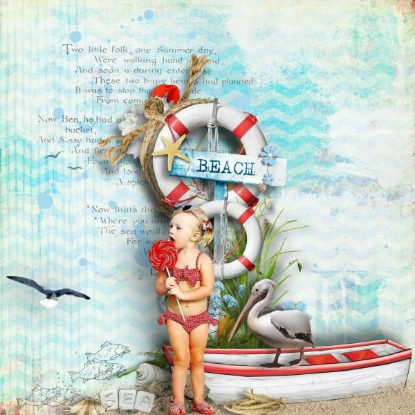 Getting ready for Summer | Digital Scrapbooking at Scrapbook Flair