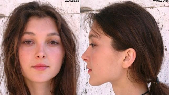 Woman Face Front And Side Www 3d Sk Female Face Drawing Woman Face Cute Girl Face