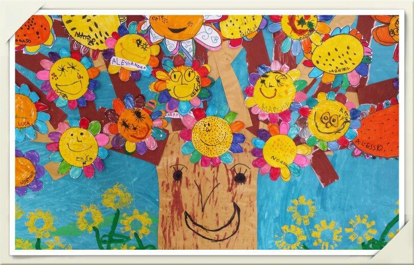 Mobili scuola ~ Albero primavera scuola dell infanzia idee scuola