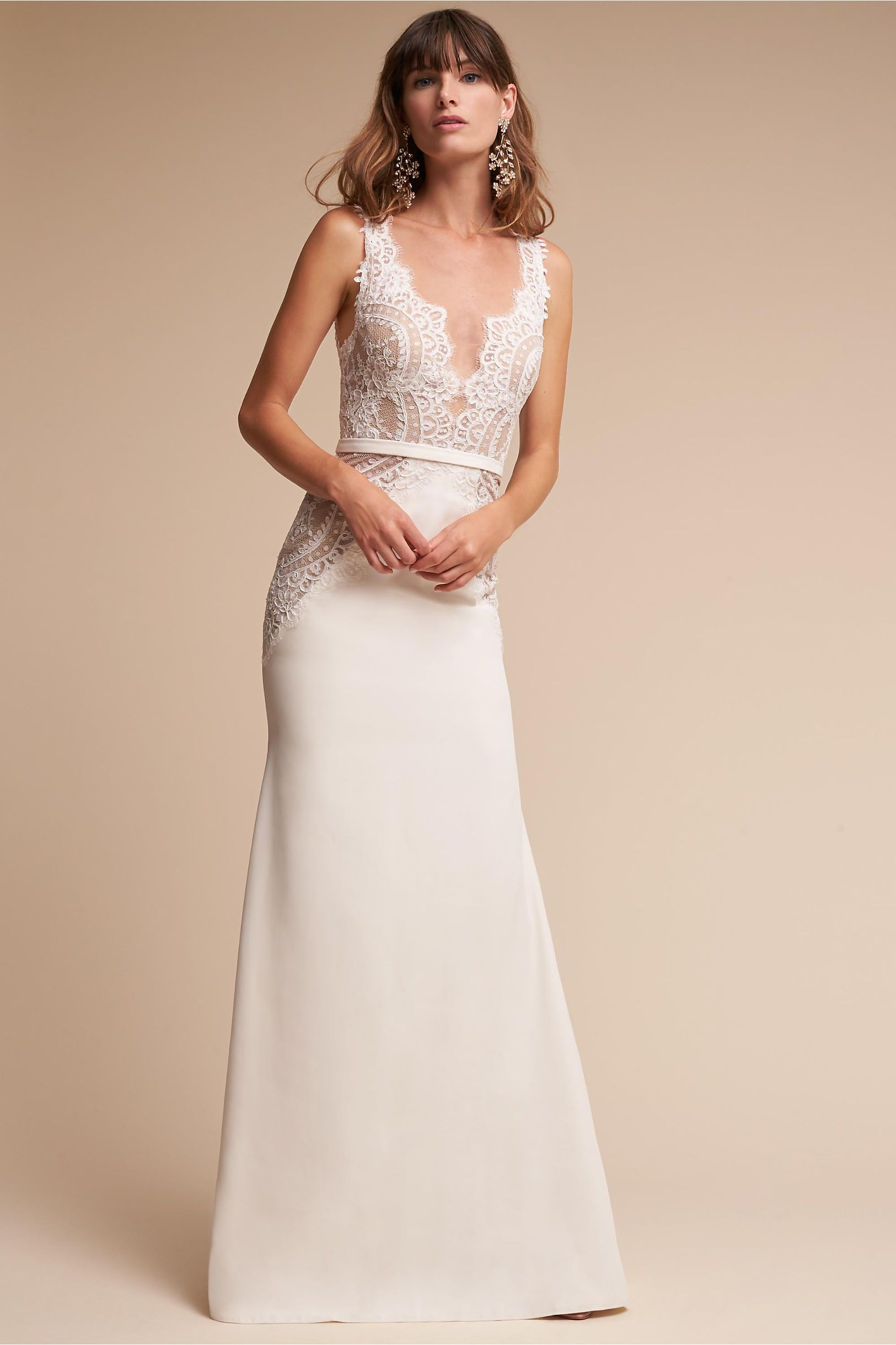 dfe7a0d791 BHLDN s Watters Selma Gown in Ivory