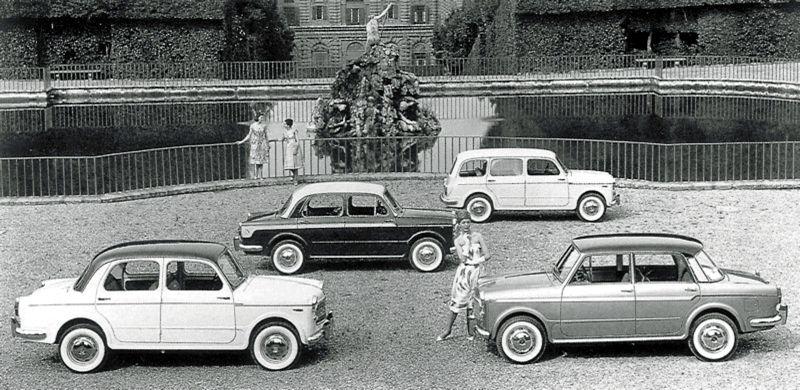 Fiat 1100 1200 gamma 1960 edit...
