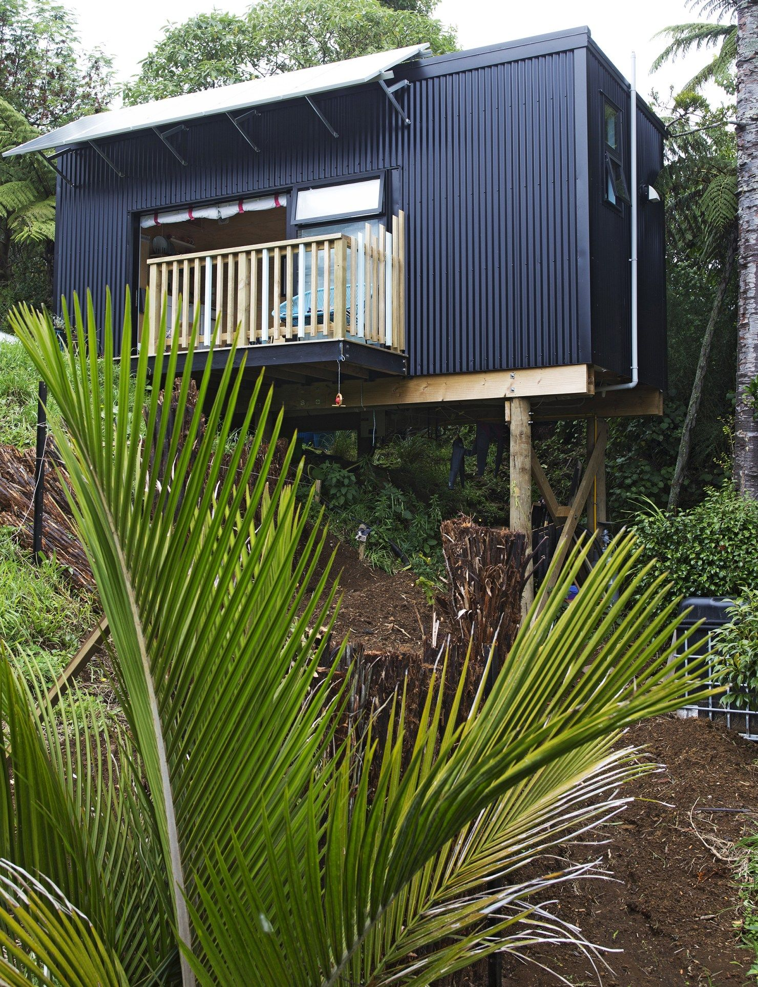 New Plymouth Container Home New Zealand (с изображениями