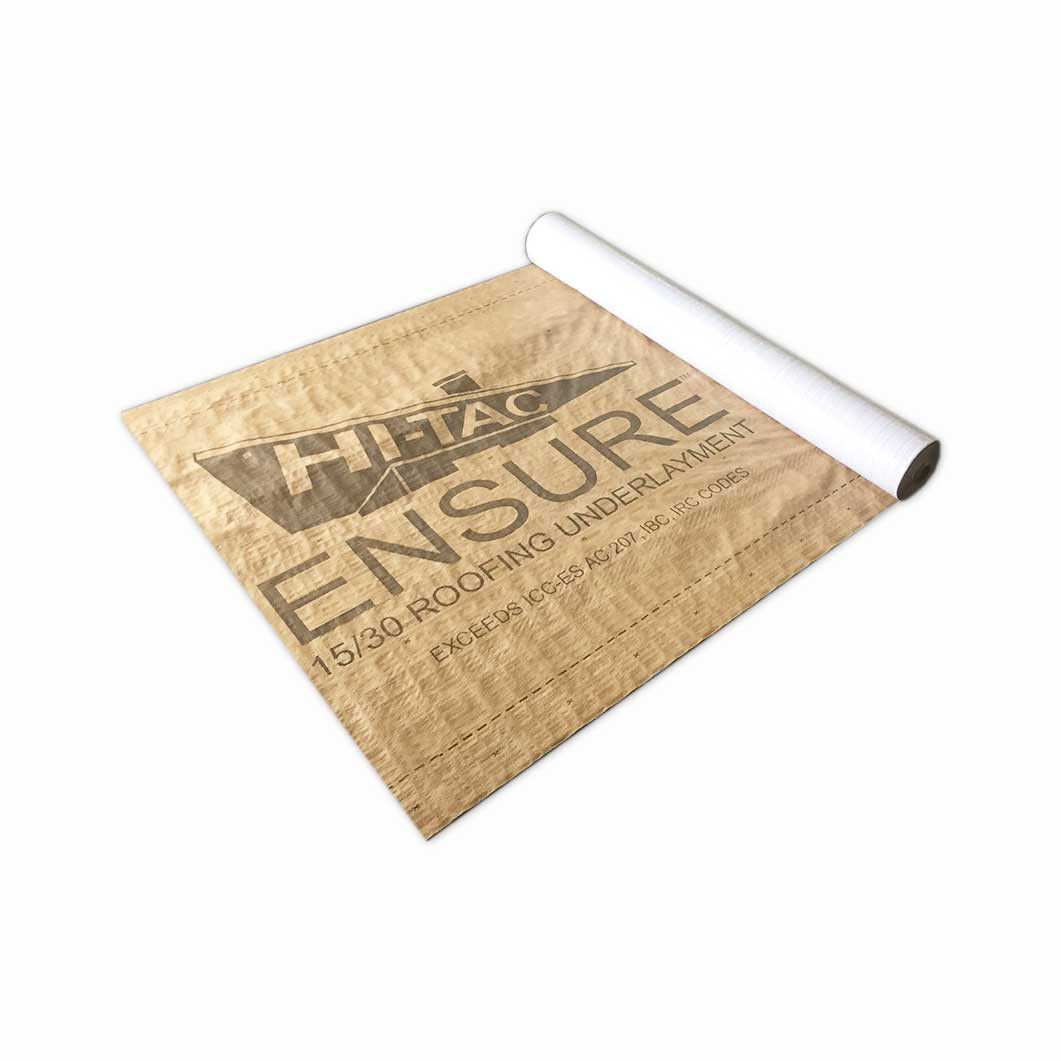 Ensure HiTac Synthetic Roofing Underlayment 4' x 250'