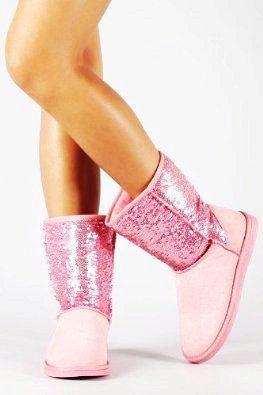 Pink Sparkle UGG Boots - Hot Pink Sparkle UGG .