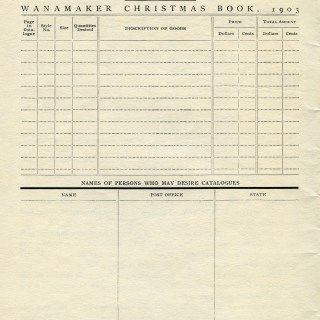 Christmas Order Form  Free Vintage Graphics  Digital