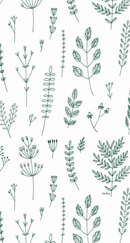 39+ Trendy Plants Wallpaper Pattern Inspiration -   12 plants Pattern inspiration ideas