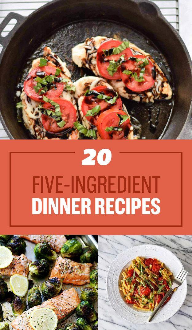 20 smart five ingredient dinner ideas bloggers best healthy