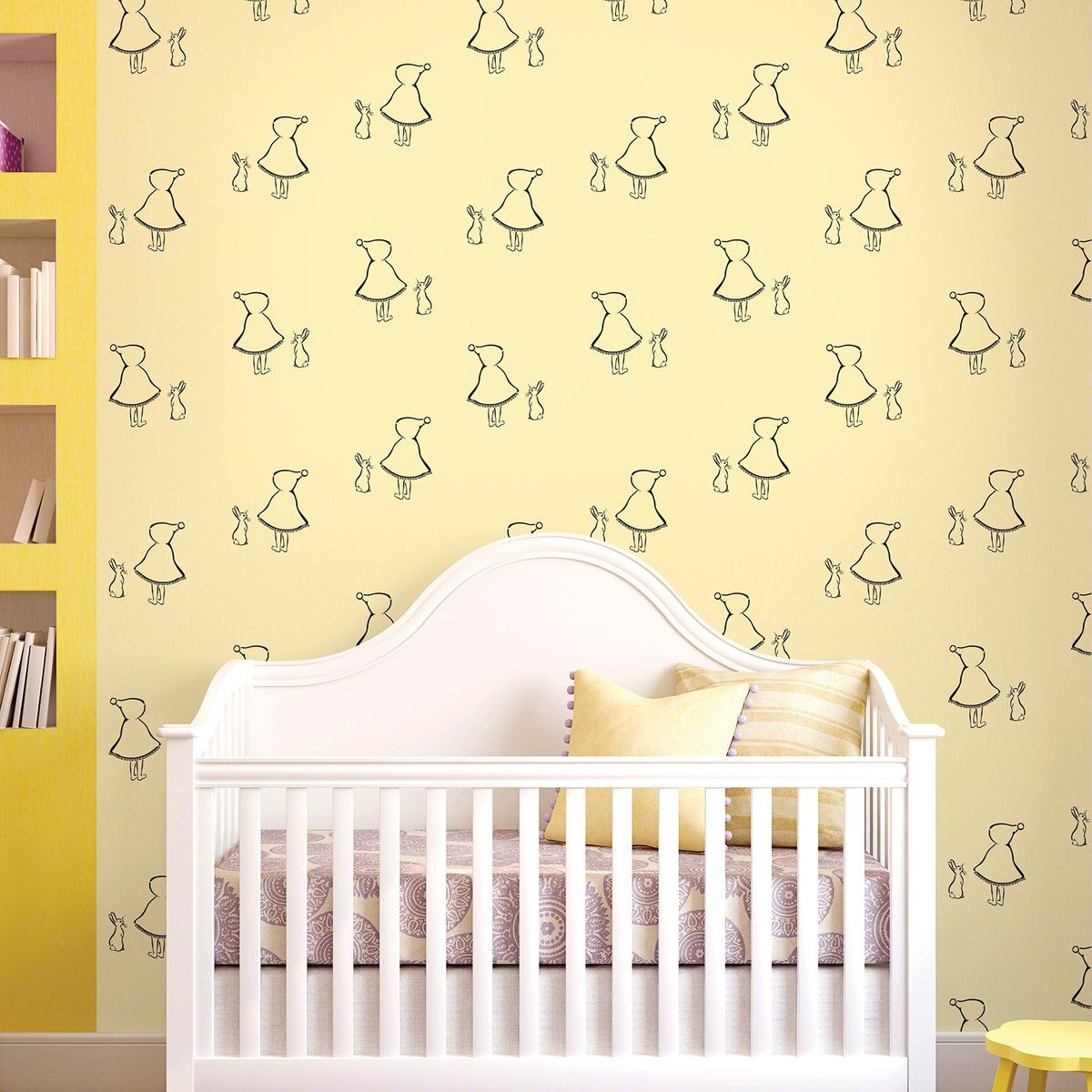 Bunny Up Removable Kids Wallpaper | Kids WallPaper | Pinterest ...