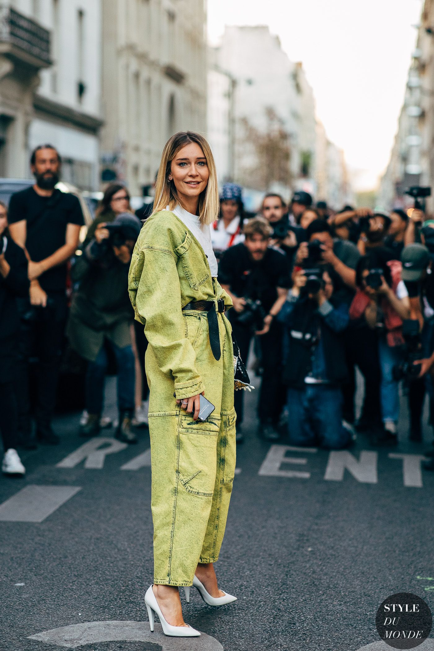 Paris SS  Street Style Chiara Capitani  Every day fashion