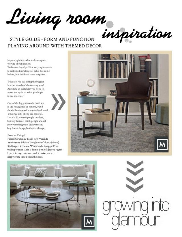 """""""Living Room Inspiration"""" by mobmarchese on Polyvore featuring interior, interiors, interior design, Casa, home decor, interior decorating e living room"""