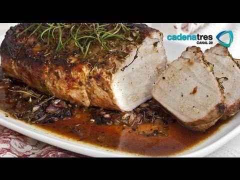 Receta De Lomo De Cerdo Al Horno Cómo Hacer Lomo De Cerdo Sys Youtube Lomo De Cerdo Al Horno Lomo De Cerdo Carne De Puerco Recetas