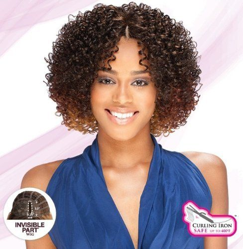 FESTIVAL - SHAKE N GO EQUAL INVISIBLE PART WIG #1B OFF BLACK by Unknown. $27.43. Adjust the width of the part with ease using attached wig clips.. Soft and flexible handmade INVISIBLE PART WIG is easy to maintain.. The handmade front bang light and soft to give you a natural style. Style with your own natural hair while enhancing your style & length.. Shake-N-GO FreeTress The Luxury Integration Equal Invisible Part Wig - FESTIVAL. CURLING IRON SAFE UP TO 400F  Style with your ow...
