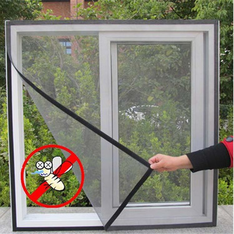 Window Curtain Net Mesh Screen Protector Door Magnetic Anti Insect Bug Mosquito