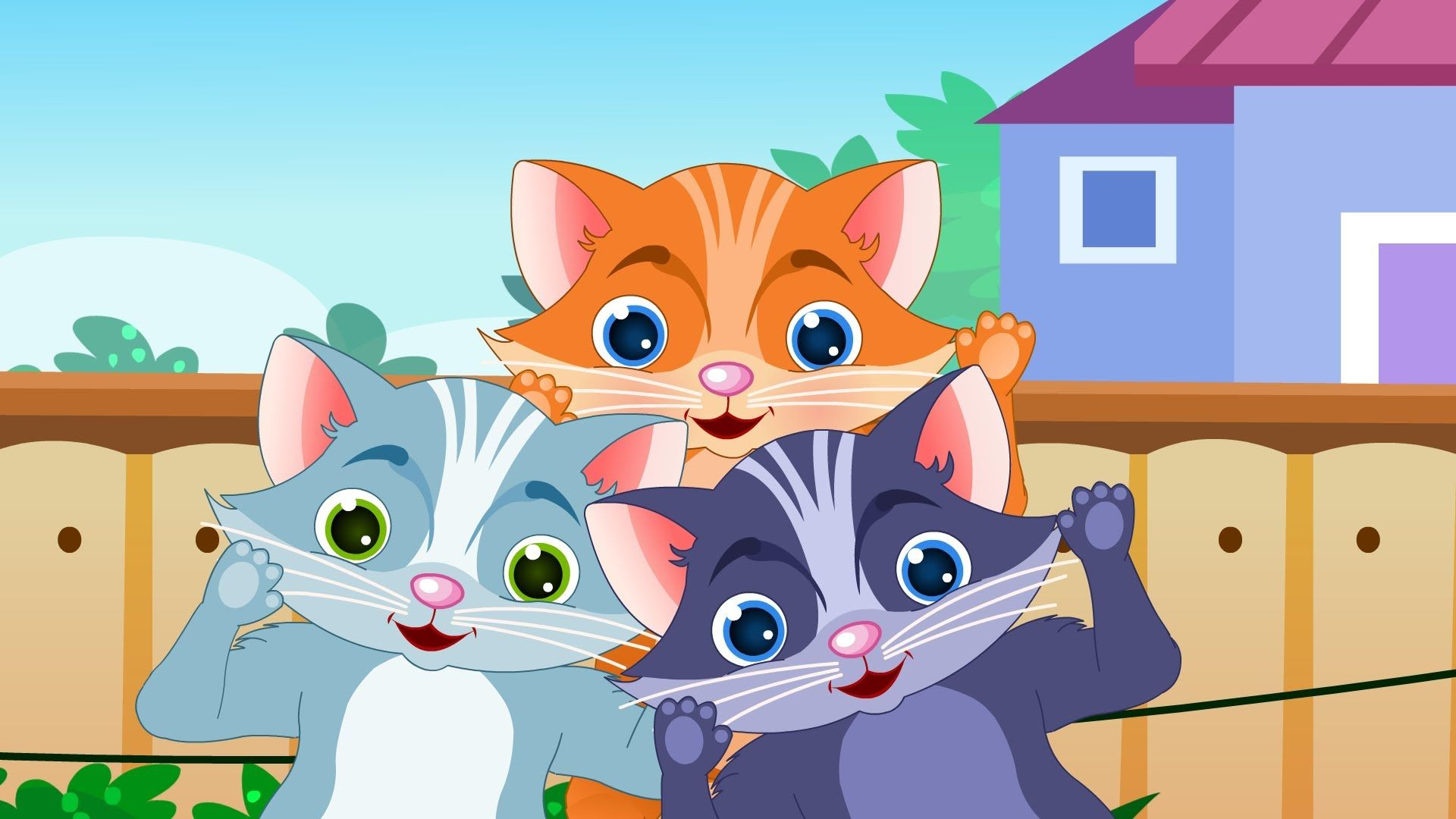 The Three Little Kittens Nursery Rhymes Activities Nursery