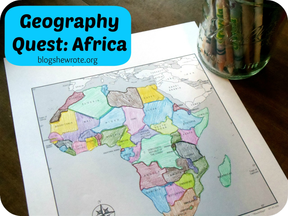 Geography Quest Africa