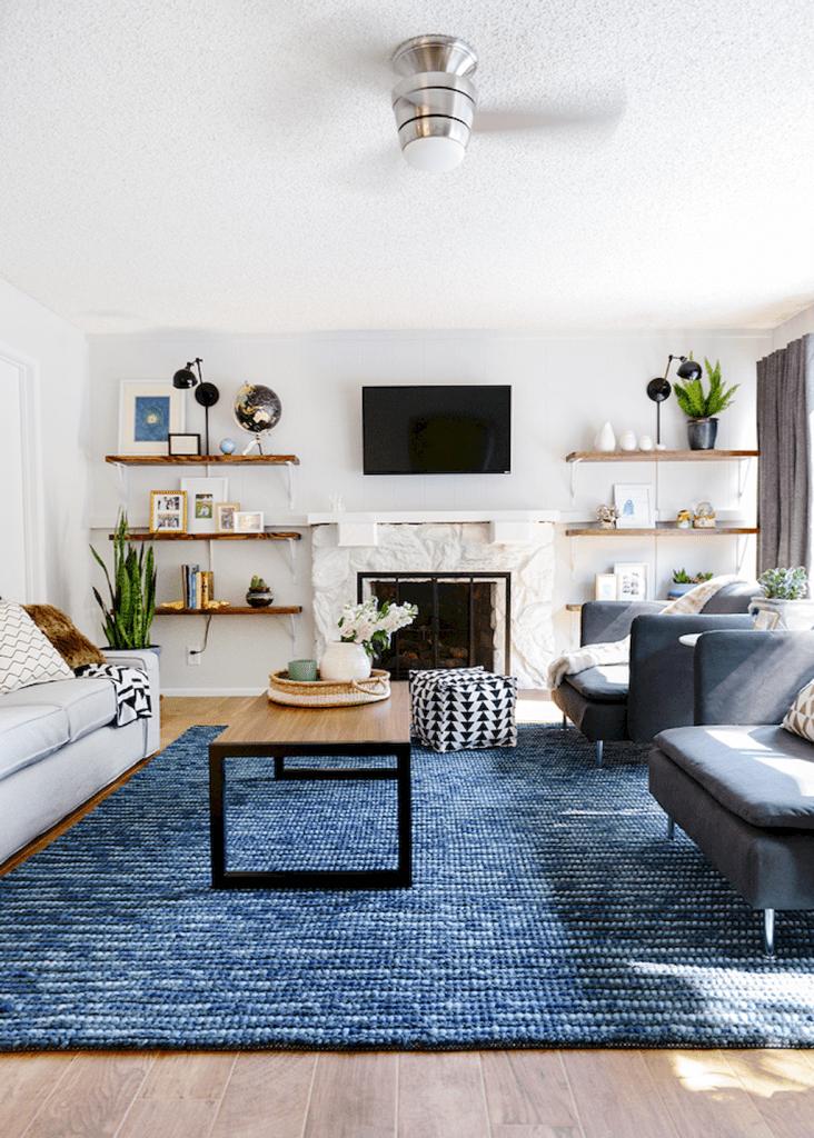 Hottest Free Blue Carpet Living Room Concepts Produce A Glance Of Elegance And Depth Living Room Carpet Neutral Living Room Design Modern Farmhouse Living Room