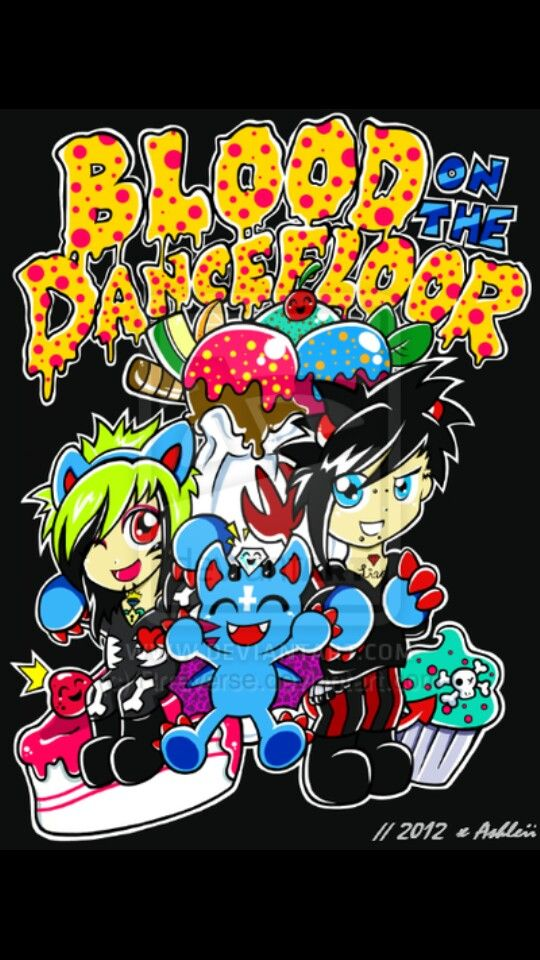 Blood On The Dance Floor Cool Bands Music Bands Anime