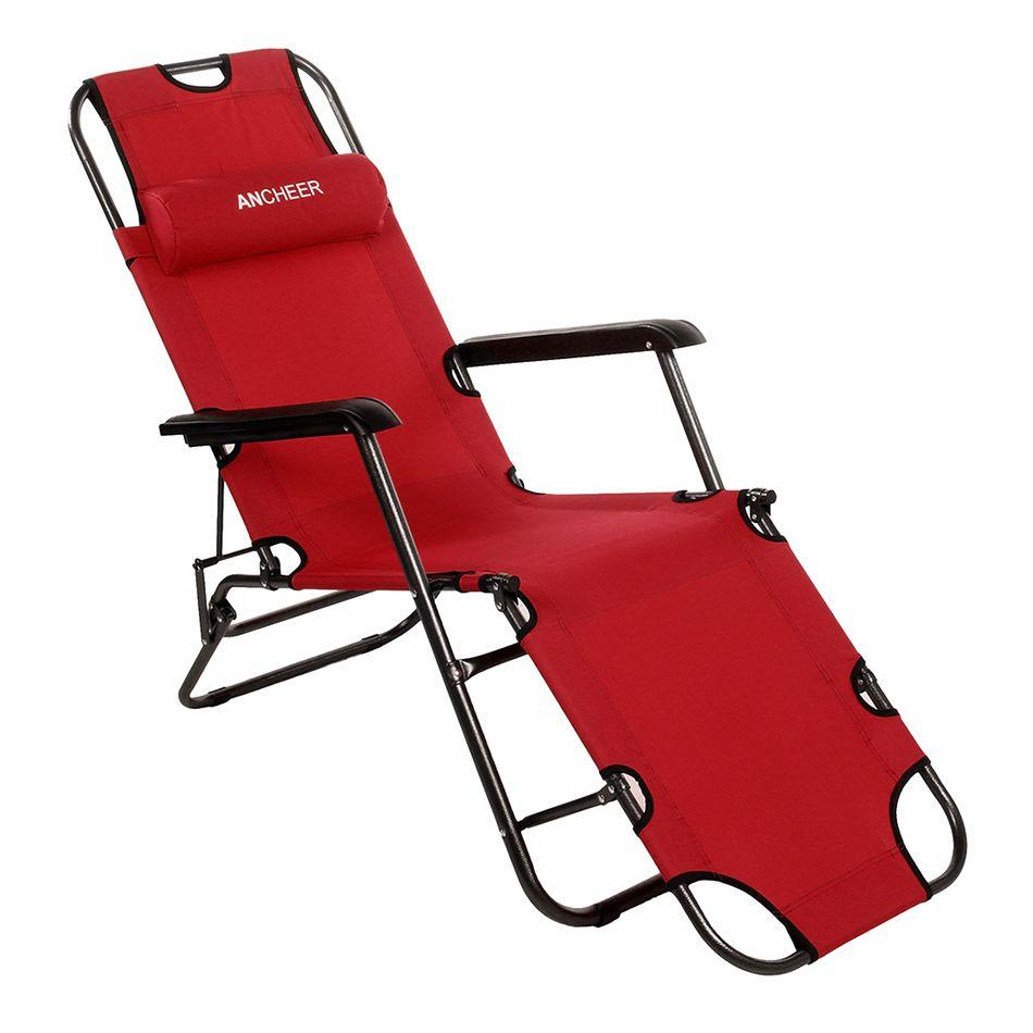 Homdox tuinmeubilair cm bureau stoel langer leisure vouwen