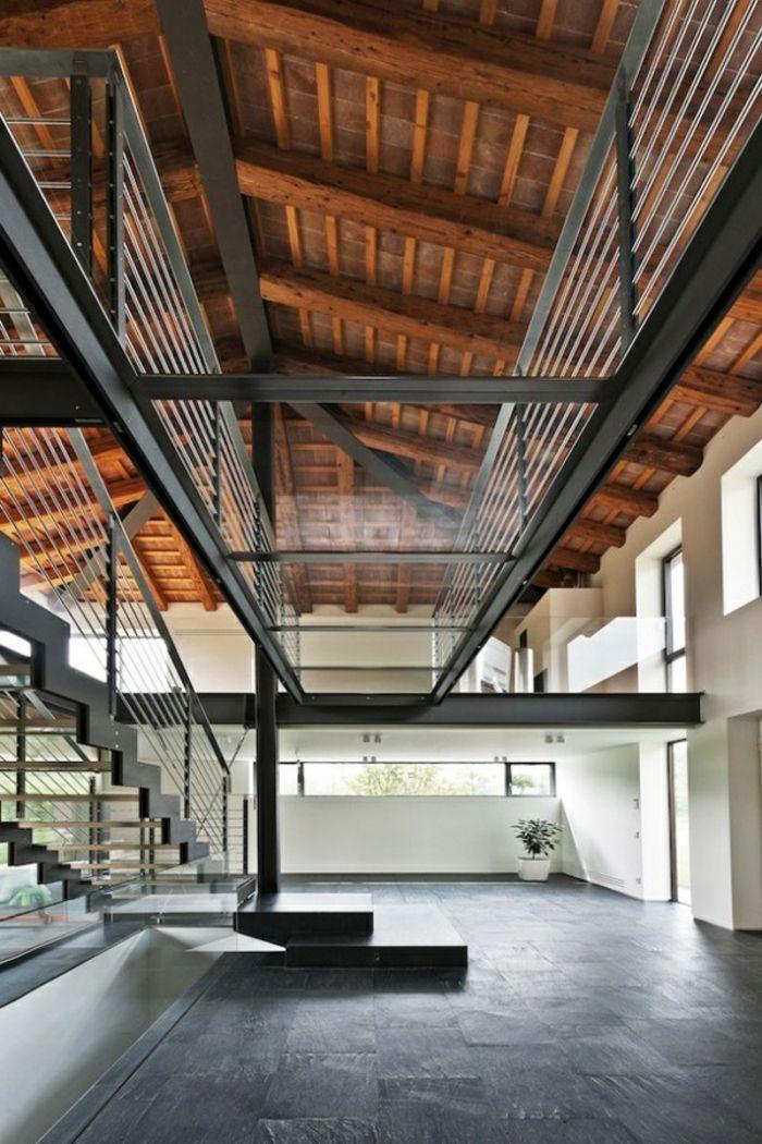 Transformez votre maison avec le plancher en verre house plancher en verre escalier en - Le verre maison ...