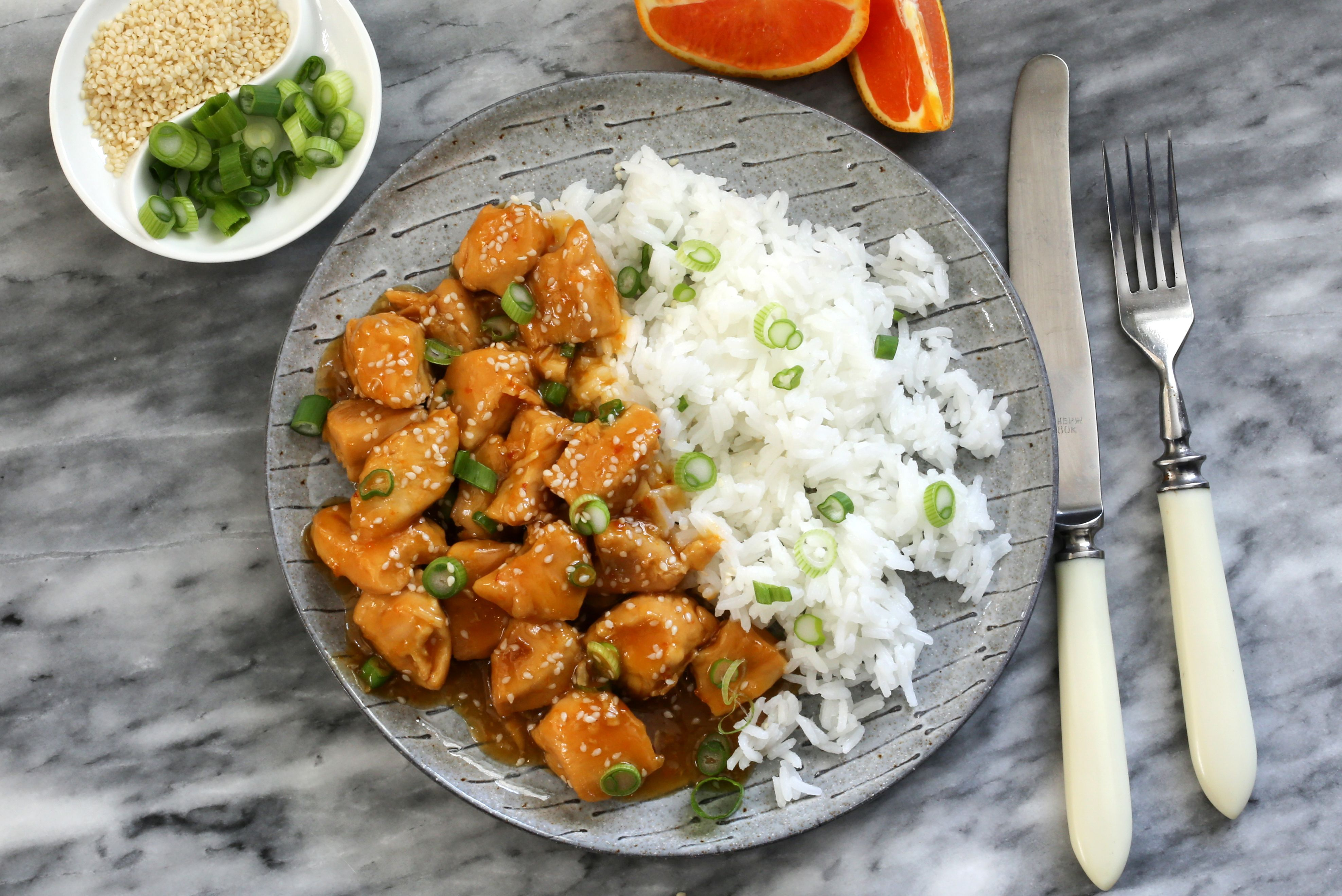 Instant Pot Orange Chicken Is Instant Flavor Orange Recipes Orange Chicken Quick Dinner Recipes