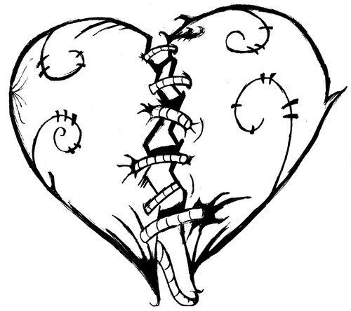 Heart Coloring Pages Printable Hearts And For Kids On Free Download