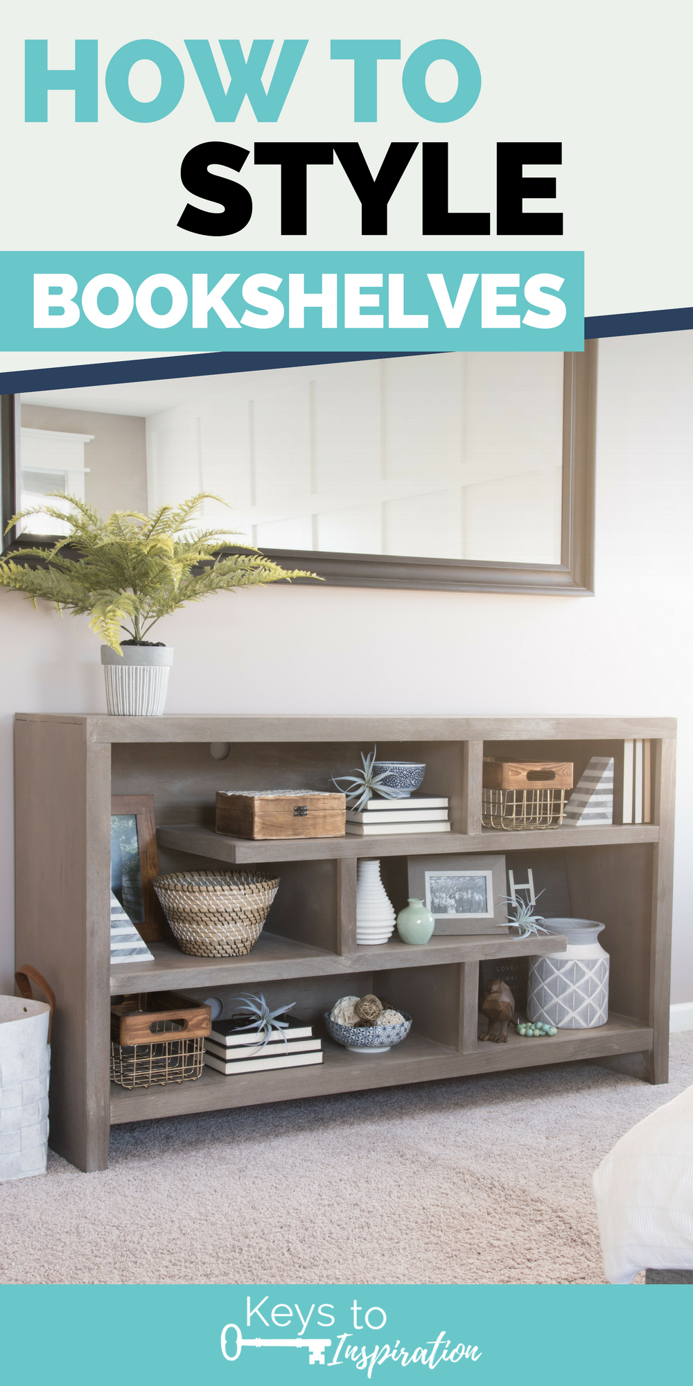 How to Style Bookshelves is part of Home Accessories Decor Shelves - How to style bookshelves  Tips, tricks, and ideas for decorating shelves and bookcases with more than just books  Make your shelves look intentionally decorated and put together