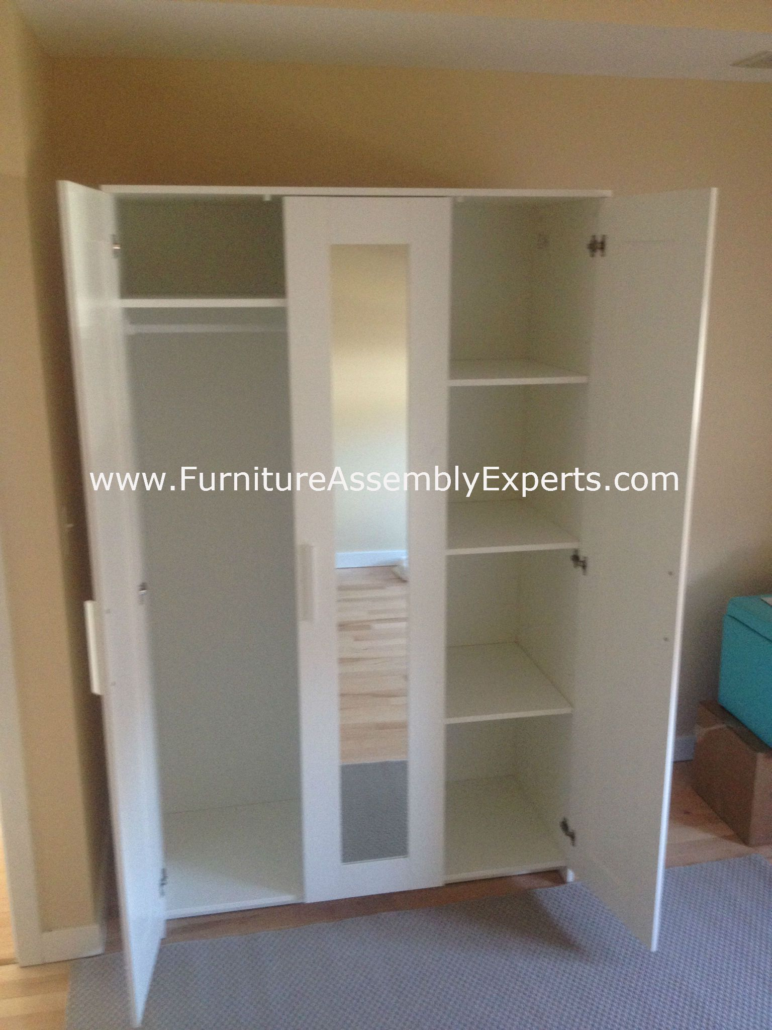 Ikea Brimnes Wardrobe Assembled In Philadelphia PA By Furniture Assembly  Experts LLC