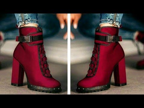 Moda En Botas Y Botines Tendencias Otoño Invierno 2019 Youtube Botas Mujer Invierno Zapatos De Invierno Mujer Botas De Moda