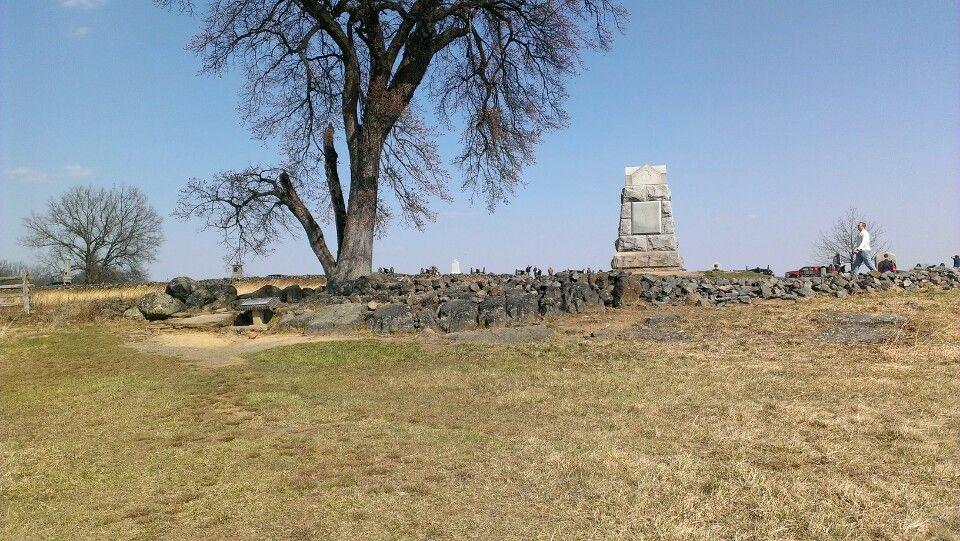 The Angle Gettysburg Battlefield Gettysburg Battlefield Civil War Monuments Civil War Battles