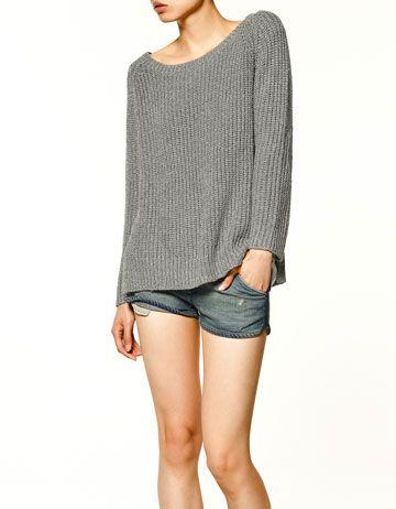 shimmer sweater, $79.90
