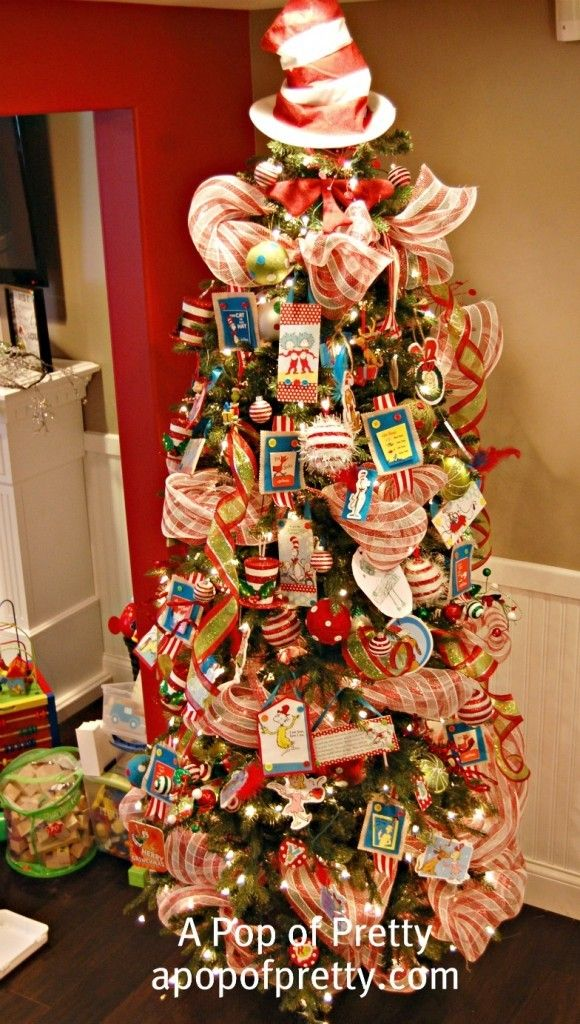 share tweet 1 mail thanks so much for all the awesome feedback my dr seuss christmas tree if you havent seen it yet - Dr Seuss Christmas Decorations