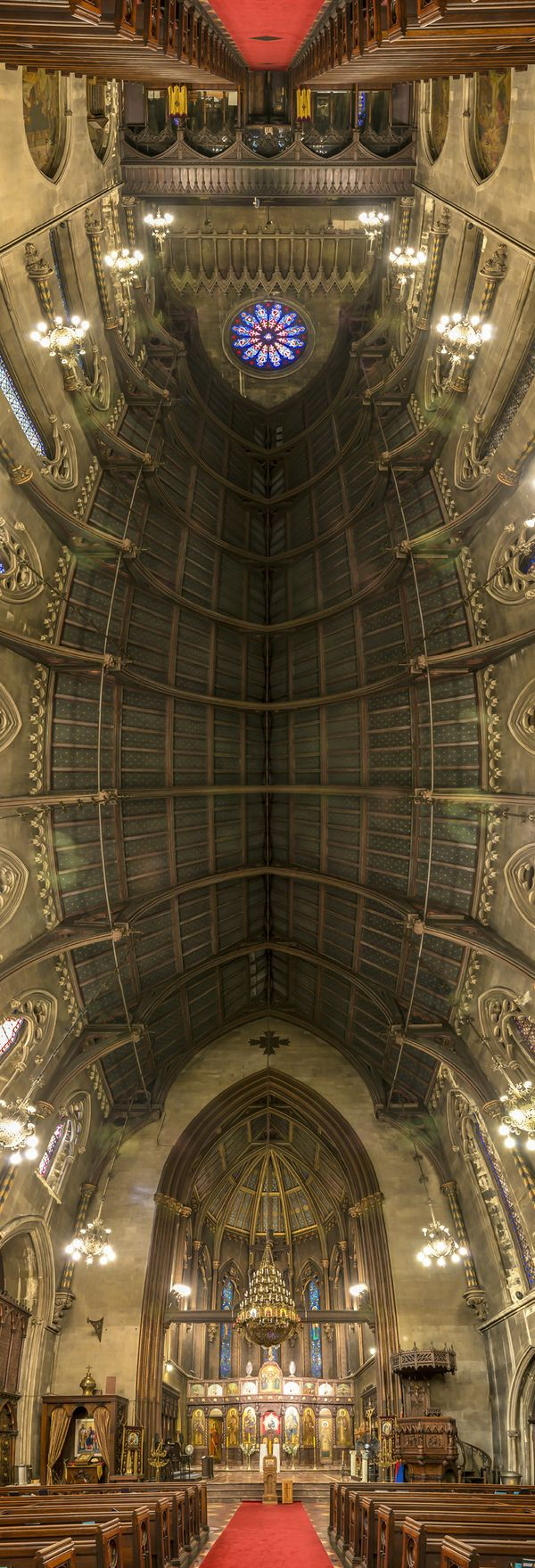 NY Churches-A Unique Perspective by Richard Silver, via Behance