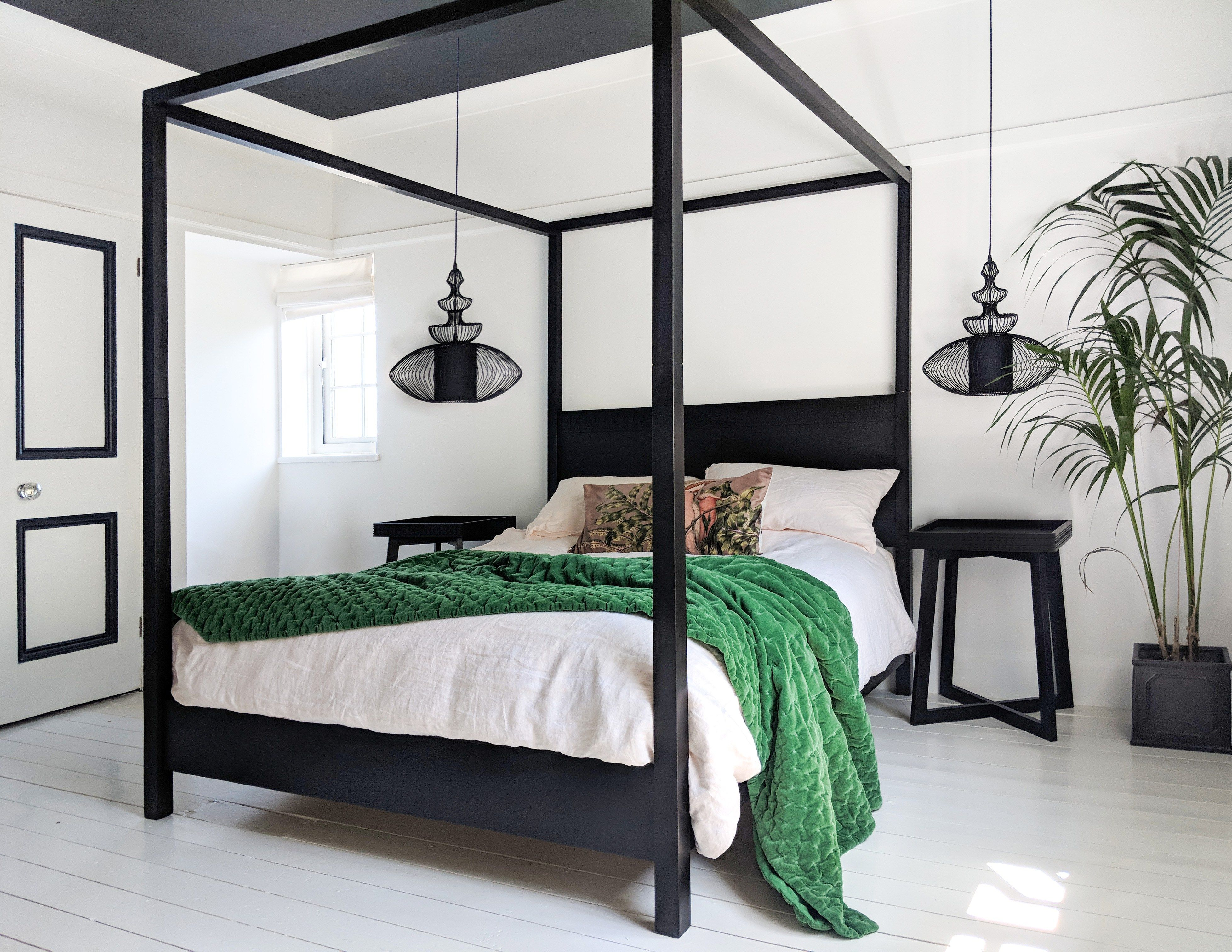 - How To Use Decorative Lighting In Your Homes Black Canopy Beds