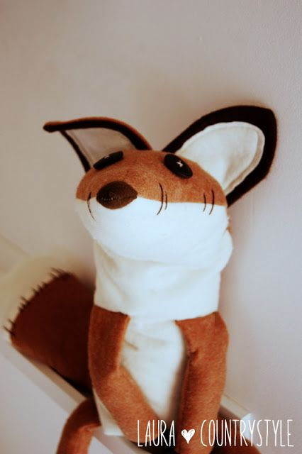 Country style etsy pattern fox \