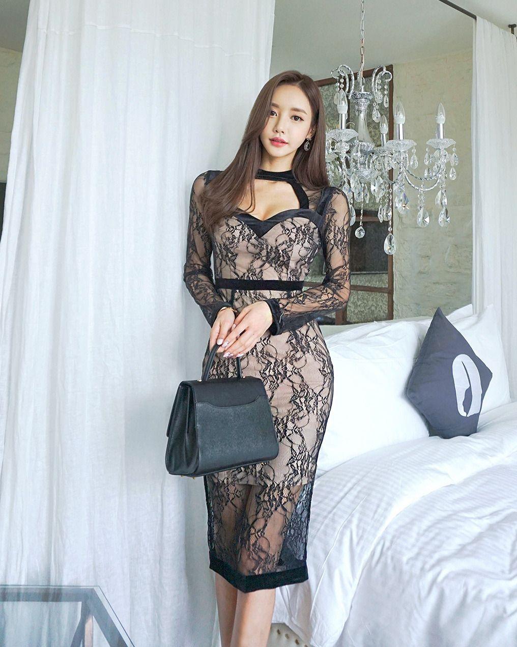 Blooming Bouquet Midi Dress Korean Fashion Pinterest Korean
