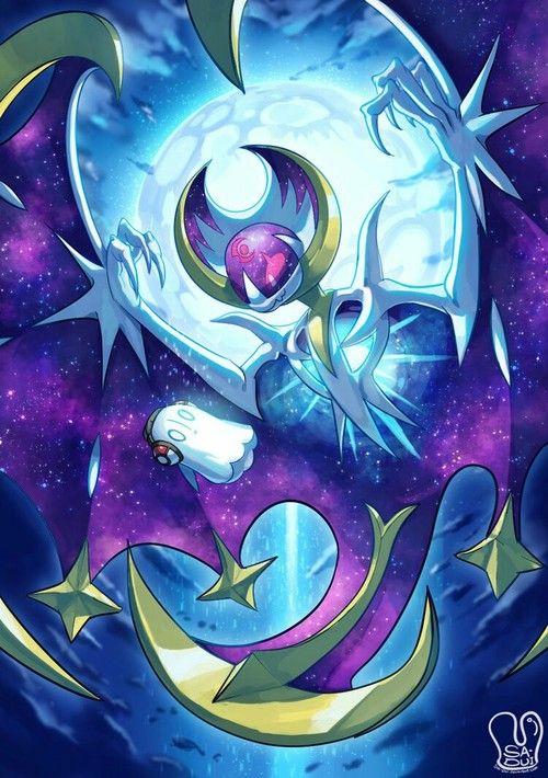 Pokemon Lunala Pokemon Pokemon Art Cool Pokemon Wallpapers