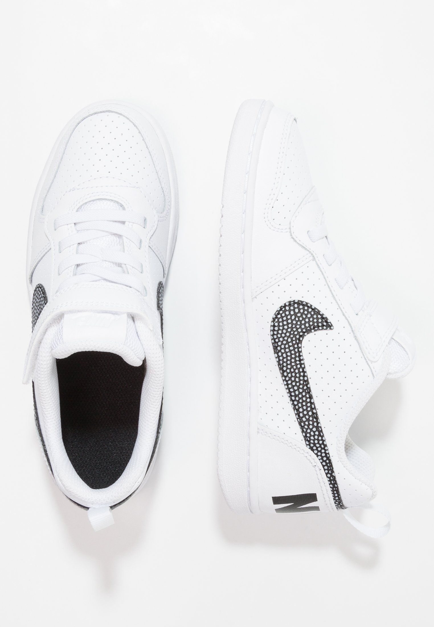 the latest d86a1 09eb0 Chaussures Nike Sportswear COURT BOROUGH - Baskets basses - whiteblack  blanc 34,