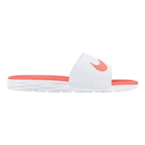 16f968630bc06c Nike Womens Benassi Solarsoft Slide 2 Sandal WhiteBright Mango 8   This is  an Amazon Affiliate link. Read more at the image link.