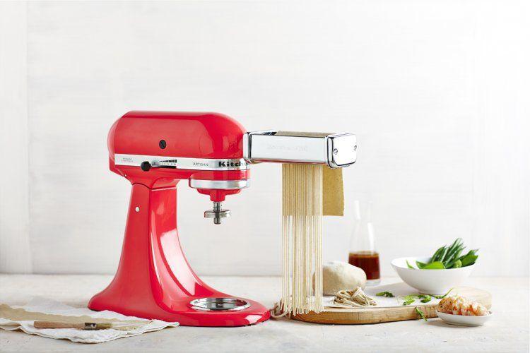 Kitchenaid stand mixer recaipe fresh soba noodle prawn