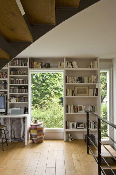Biblioth ques sur mesure les bonnes id es salons mezzanine and decoration - Idee deco bibliotheque ...