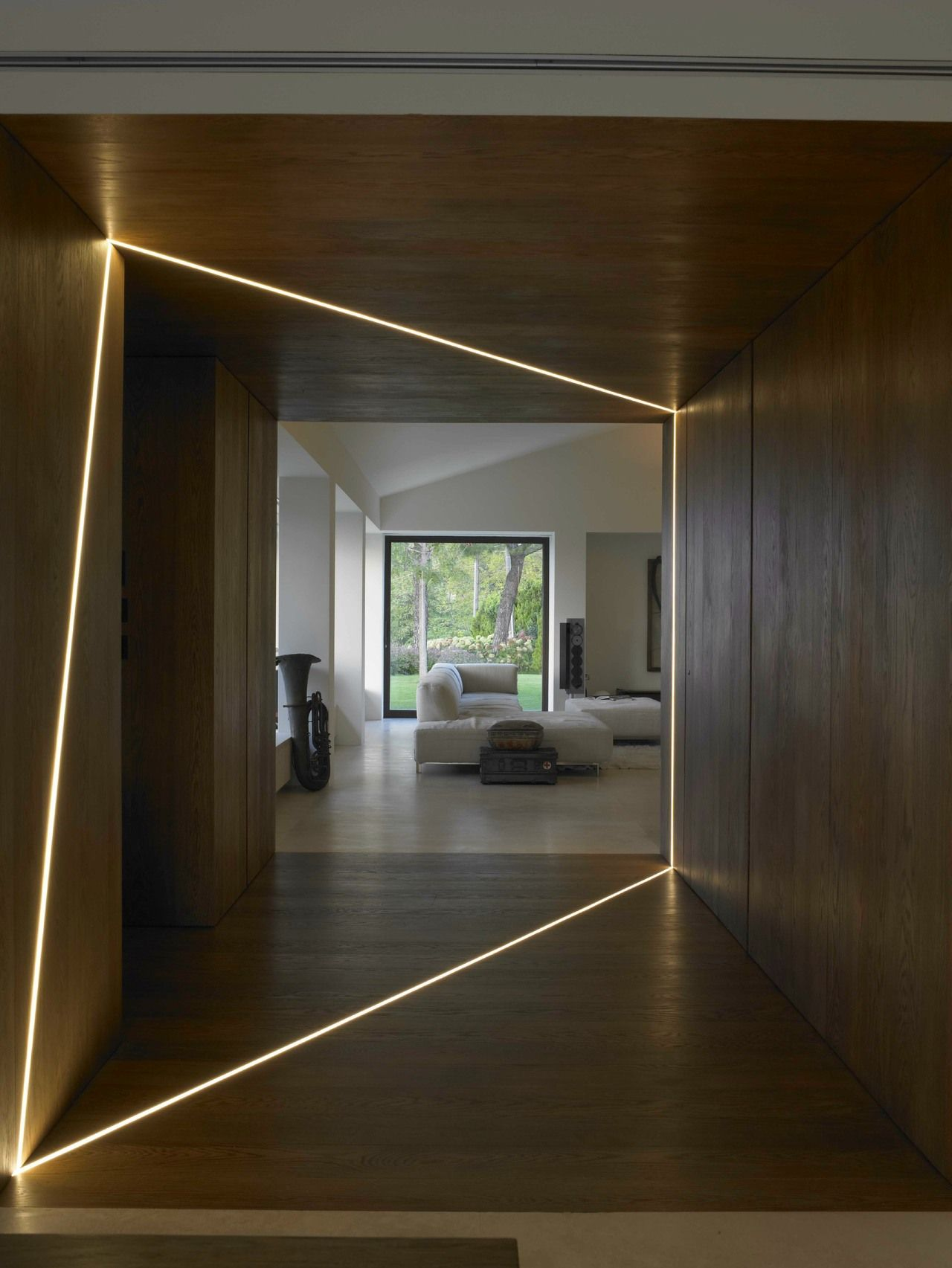 Interesting Use Of Interior Light House Lighting Design Flat