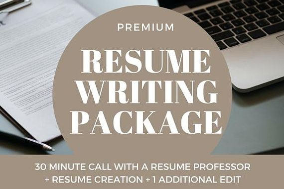 Premium Package Professional Resume Writer  Career Coach Writes - resume coach