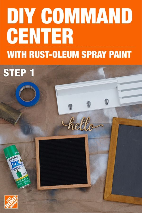 Give Your Command Center A Colorful Upgrade Using Rust Oleum
