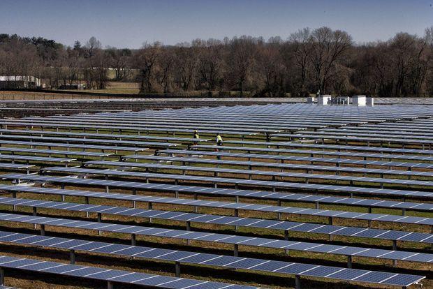 Editorial Lawrenceville School Leads U S With 30 Acre Solar Farm Largest At K 12 School Solar Farm Lawrenceville School Solar