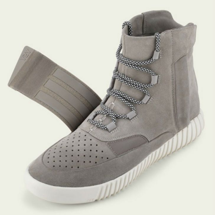 Kanye West Introduces Clothing And Shoe Line With Adidas At Fashion Week Yeezy Boots Leather Shoes Woman Sneakers