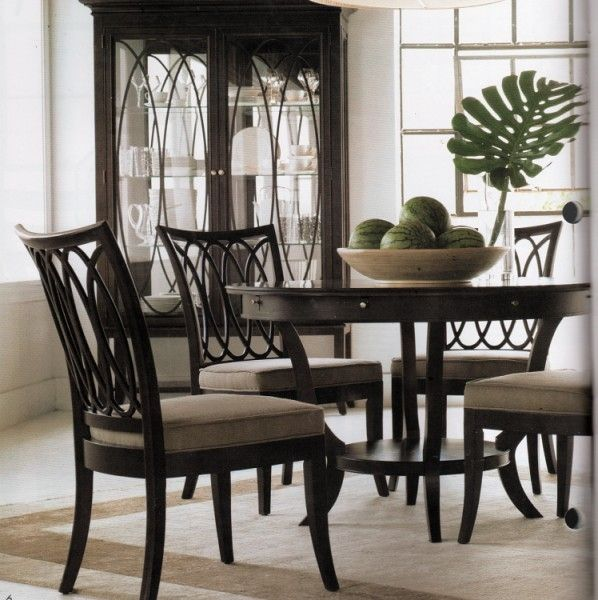 Luxurious Dining Room Furniture Marge Carson Replica Stanley Century
