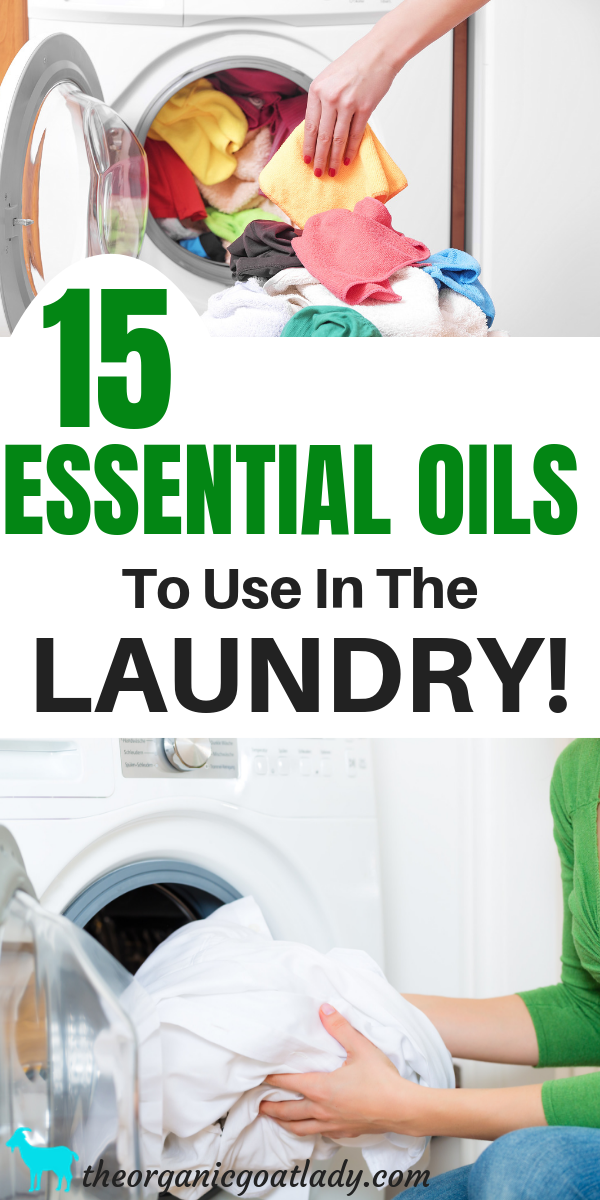 15 Essential Oils To Use In The Laundry Cleaning Naturally