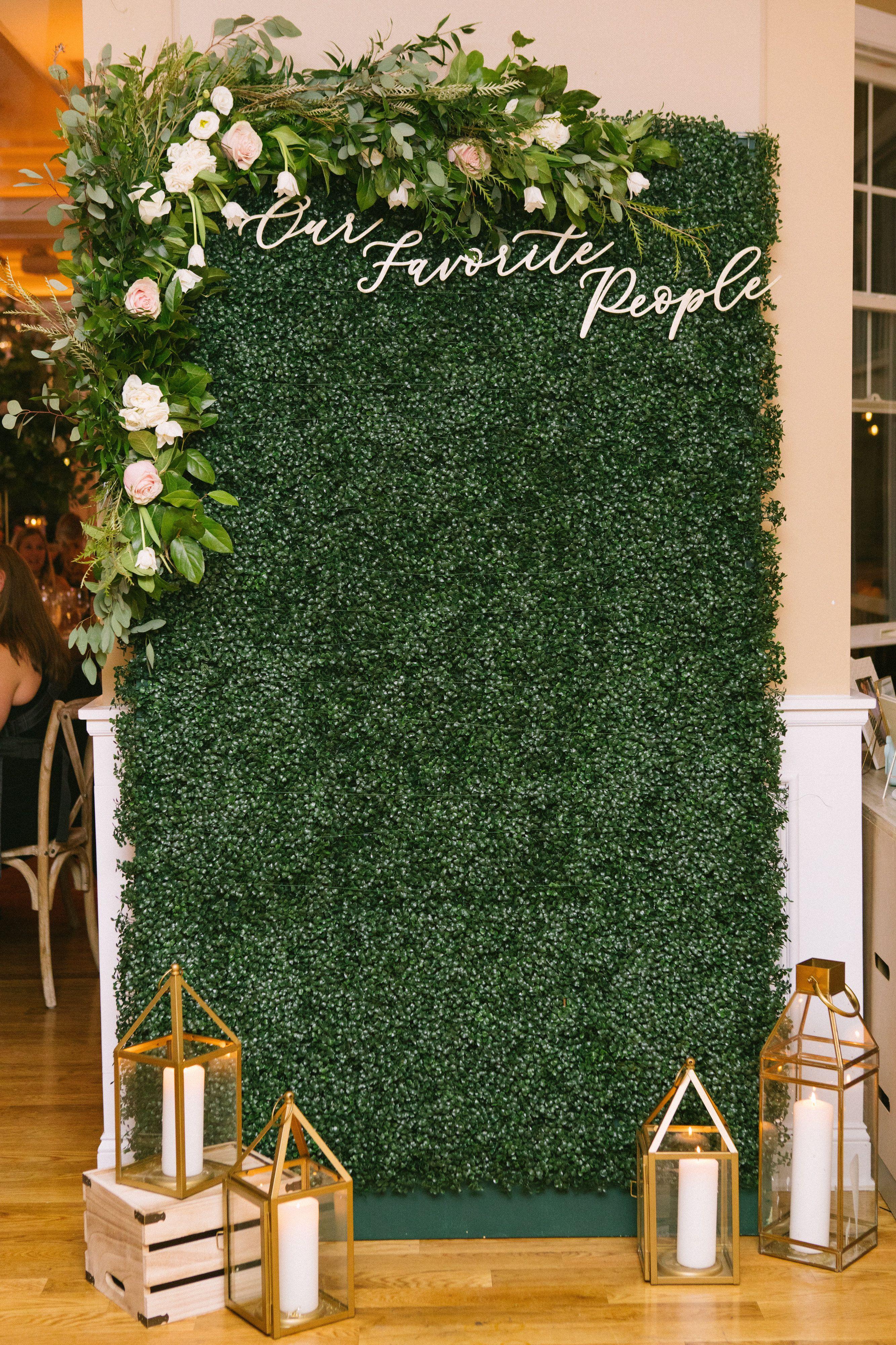 Wedding Photo Backdrop Greenery Photo Back Drop Nj Wedding Venue Bear Brook Valley Wedding Photo Walls Photo Backdrop Wedding Wall Backdrops