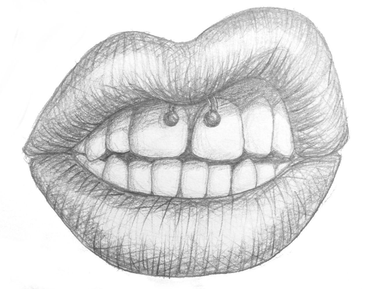 Disegni E Disegni Labbra Tumblr Art Schizzi Facili