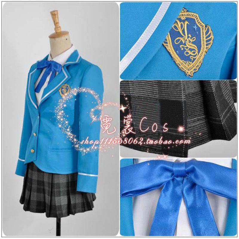 Ensemble Stars Transfer Student Girls Offering Uniform Cosplay